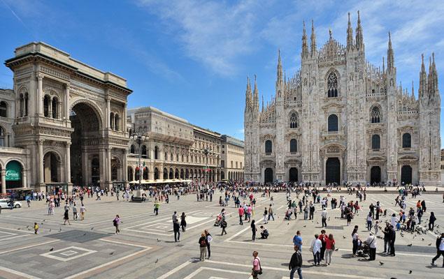 Италия: Милан. Верона. Венеция. Острова Мурано и Бурано.